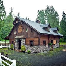Horse Barns With Apartments Plans 102 Best Barndo Images On Pinterest Architecture Cottages And