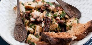 poulpe cuisine poulpe à la galicienne facile et pas cher recette sur cuisine