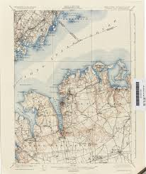 Purchase Ny Map Connecticut Historical Topographic Maps Perry Castañeda Map