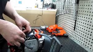 chainsaw husqvarna 440 x torqe repair manual youtube