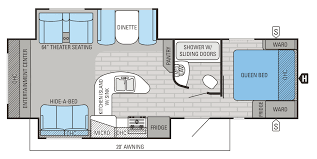 Trailmanor Floor Plans by 2015 White Hawk Floorplans U0026 Prices B U0026b Redding I 5 Rv Center