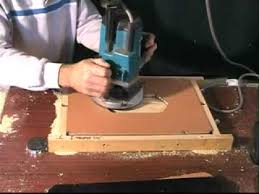 cabinet door router jig routing with tom o donnell producing a small cabinet door mp4 youtube