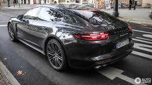 porsche sedan 2016 2017 porsche panamera turbo looks dynamic on the street