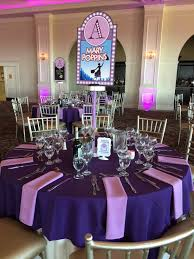 New York Themed Centerpieces by Broadway Show Centerpieces Each Table Was A Different Show