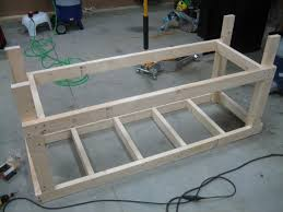 garage bench build bench decoration eaa workbench completed andrew s rv 7 build log building a workbench with wheels