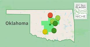 Oklahoma Zip Code Map 2017 Safest Suburbs Of Oklahoma City Area Niche