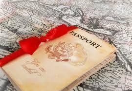 Destination Wedding Invitation Wording Examples 15 Passport Invitation Templates U2013 Free Sample Example Format