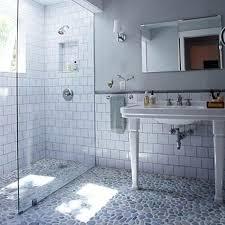 subway tile bathroom floor ideas 45 subway tile bathroom floor ideas derekhansen me