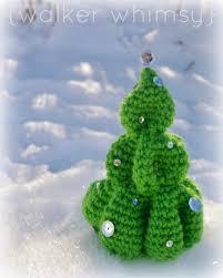 walker whimsy crochet christmas tree potm