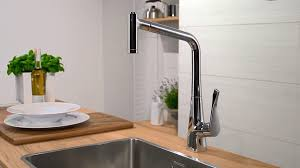 hans grohe kitchen faucets kitchen hansgrohe metris single lever kitchen mixer 320 14820000
