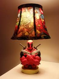 banana themed lamps deadpool lamp with light on micah u0027s superhero room pinterest