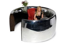 Fish Tank Reception Desk Warplanes Transformed Into Office Furniture Recyclenation