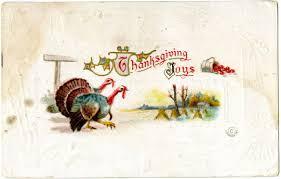 thanksgiving joys postcard 1914 history by zim