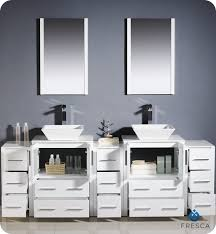 Bathroom Cabinets For Bowl Sinks Fresca Torino 84