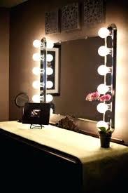 Lighted Vanity Mirror Diy Vanities Light Bulb Vanity Mirror Ikea Find This Pin And More On