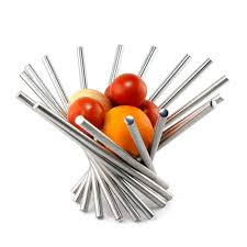 modern fruit holder 1 pc homestia stainless steel diy modern type stainless steel fruit