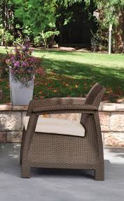 Garden Furniture Cushion Storage Bag by Keter Corfu Resin Armchair With Cushions All Weather Plastic
