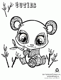 panda coloring pages 15525