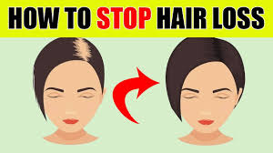how to stop hair loss and get thicker hair naturally youtube
