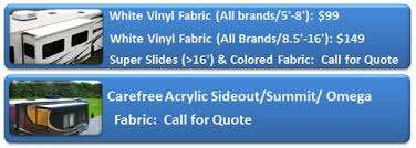 Rv Awning Replacement Fabric Rv Awning Replacement San Diego Riverside Mobile Rv Awnings