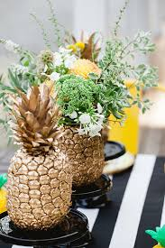 Paper Pineapple Decorations 10 Easy Decor Ideas For A Late Summer Soiree Themed Birthday