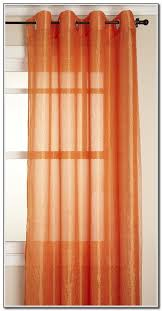Outdoor Sheer Curtains For Patio Outstanding Burnt Orange Sheer Curtains 63 With Additional Navy