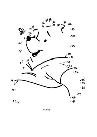 dot dot winnie pooh bee coloring pages hellokids