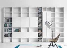 White Wall Bookcase by Wall Units Stunning Bookcase Wall Units Floor To Ceiling Bookcase