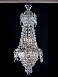 Silver Chandelier by Crystal Chandelier Antique Waterfall U0026 Bag Crystal Chandelier