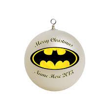 personalized batman ornament custom gift 4