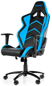 Comfortable Office Chairs Png Ak K6014 Bl Akracing Player Gaming Chair Black Blue At