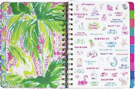 2018 lilly pulitzer large agenda beach loot by lilly pulitzer