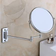mirrored bathroom accessories delicacy wall mounted double sided mirror bathroom mirror folding