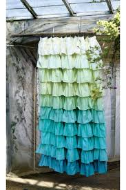 Bed Bath And Beyond Ruffle Shower Curtain - ruffle shower curtain revised pale pink ruffle shower curtain
