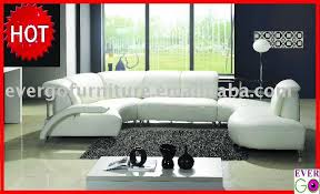 Semi Circle Couch Sofa by Leather Semi Circle Sectional Sofa Modern Design Living Room Sofa