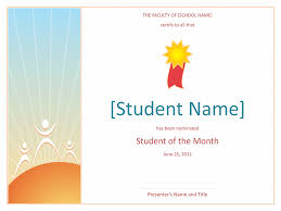 star student certificate free certificate templates in academic