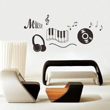 popular music rooms buy cheap music rooms lots from china music music sticker headphones theme music bedroom decor dancing music note removable wall sticker adesivo de parede