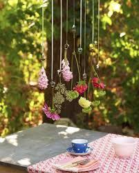 Hanging Flowers Hanging Flower Table Decoration Sweet Paul Magazine