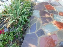 Slate Rock Patio by Patio Mosaics Devine Escapes
