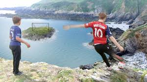 Challenge W2s Cliff Top Football Challenges