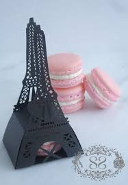 wedding favor macaron favors wedding eiffel tower