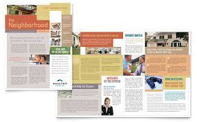 templates for word newsletters microsoft publisher templates realtor real estate agency newsletter