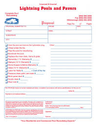 general contractor invoice form samples wilson printing usa