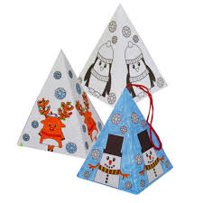 craft set make your own tree decorations