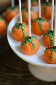 Easy Halloween Cake Pops Recipes The 25 Best Pumpkin Cake Pops Ideas On Pinterest Pumpkin Themed