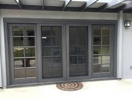 Center Swing Patio Doors Center Hinged Patio Doors Lowes Home Design Ideas
