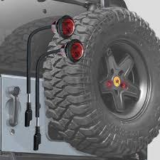 jeep jk 3rd brake light lights delta dl 01 6581 50 delta lug nut lite led third brake
