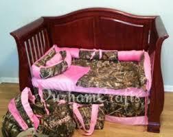 Pink Camo Crib Bedding Sets Camo Crib Bedding Etsy