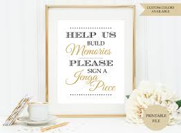wedding guest book sign jenga guest book sign printable file jenga wedding sign