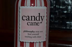 philosophy candy cane shampoo shower gel and bubble bath review